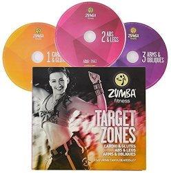 Zumba Fitness Target Zones 3 DVDs