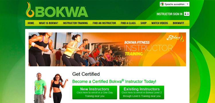 Bokwa® Ausbildung – Instructor Training auf bokwafitness.com