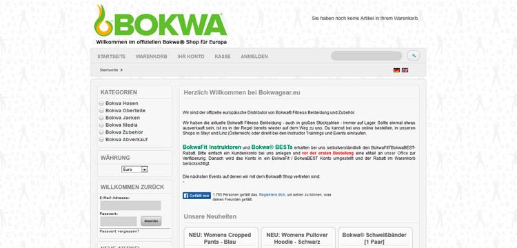 Bokwa® Kleidung bei bokwawear.at