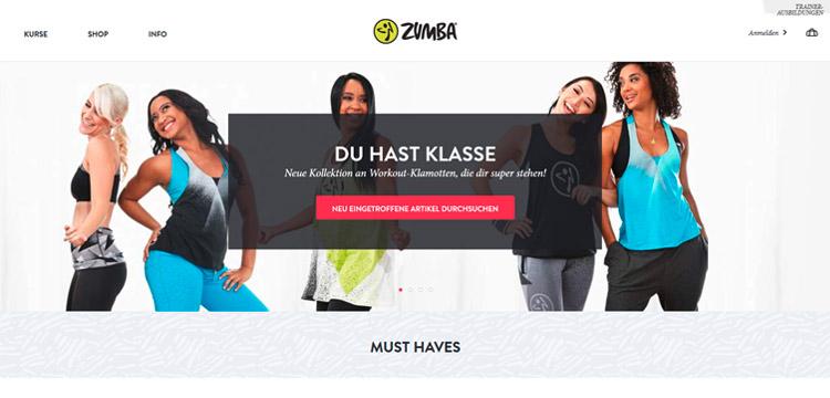 Zumba® Shop von zumba.com